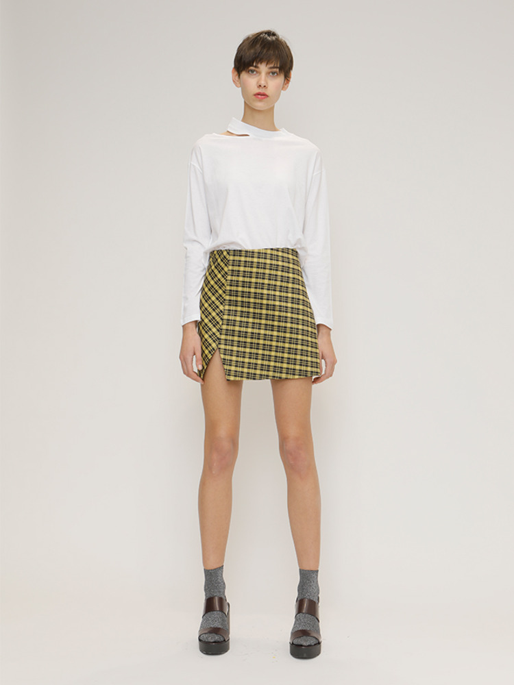 SCOTT SKIRT_YELLOW