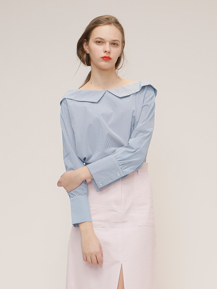 APRIL BLOUSE_SKY BLUE
