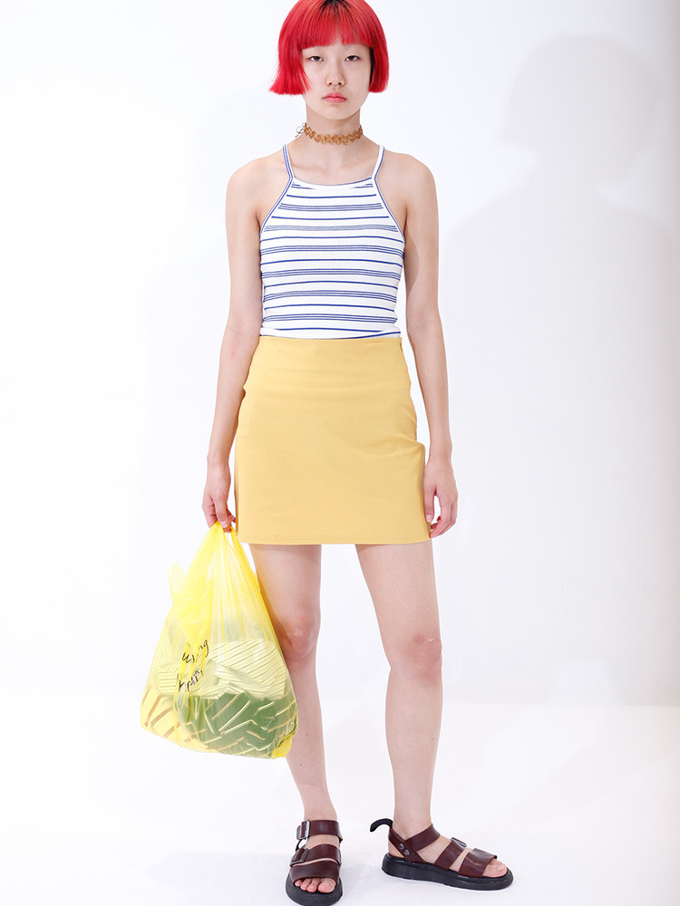 YOLO SKIRT_YELLOW