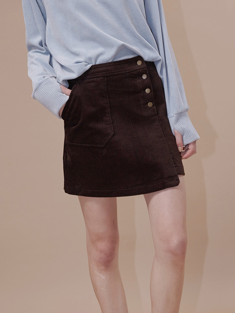 PALETTE MINI SKIRT_brown