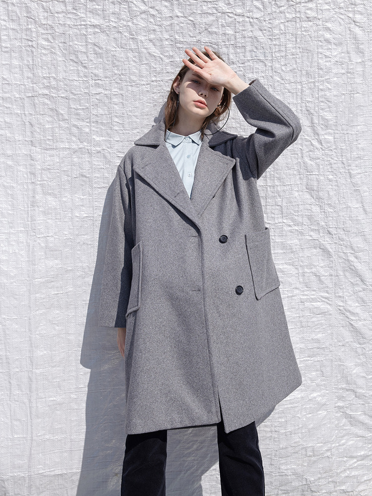 YORK DOUBLE COAT_grey