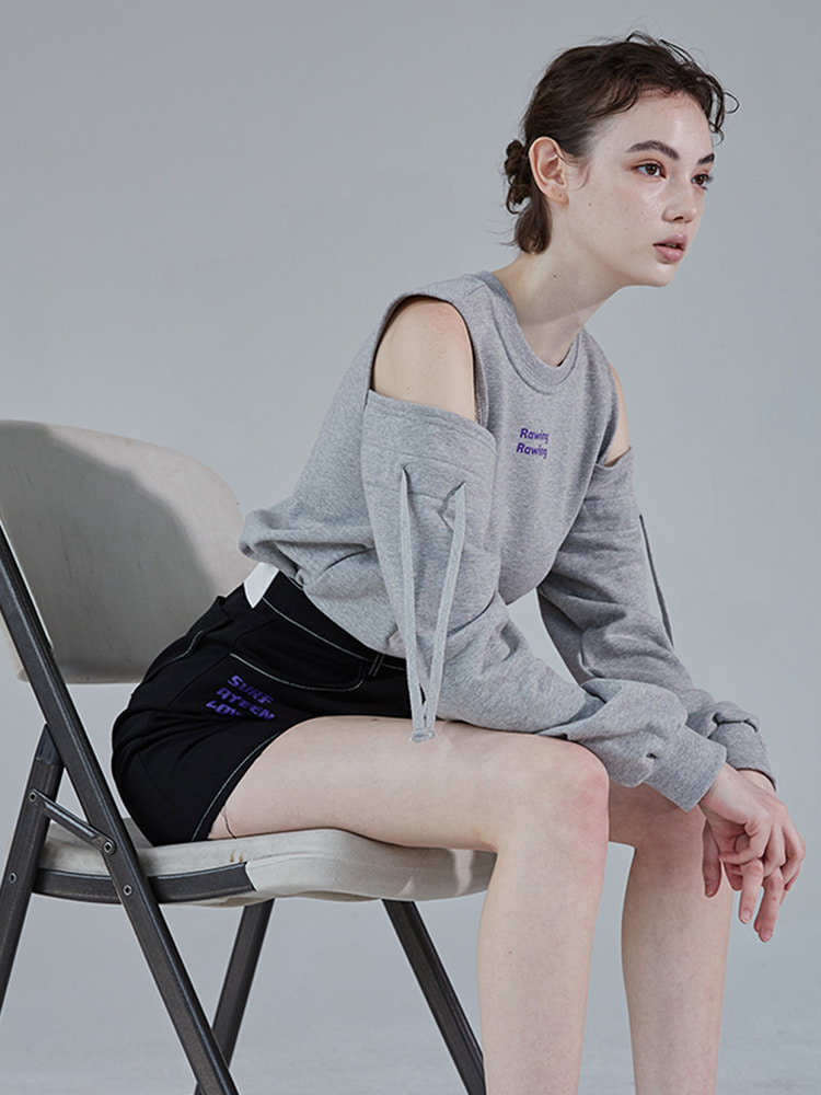 PURPLE DRAWING SWEATSHIRT_grey
