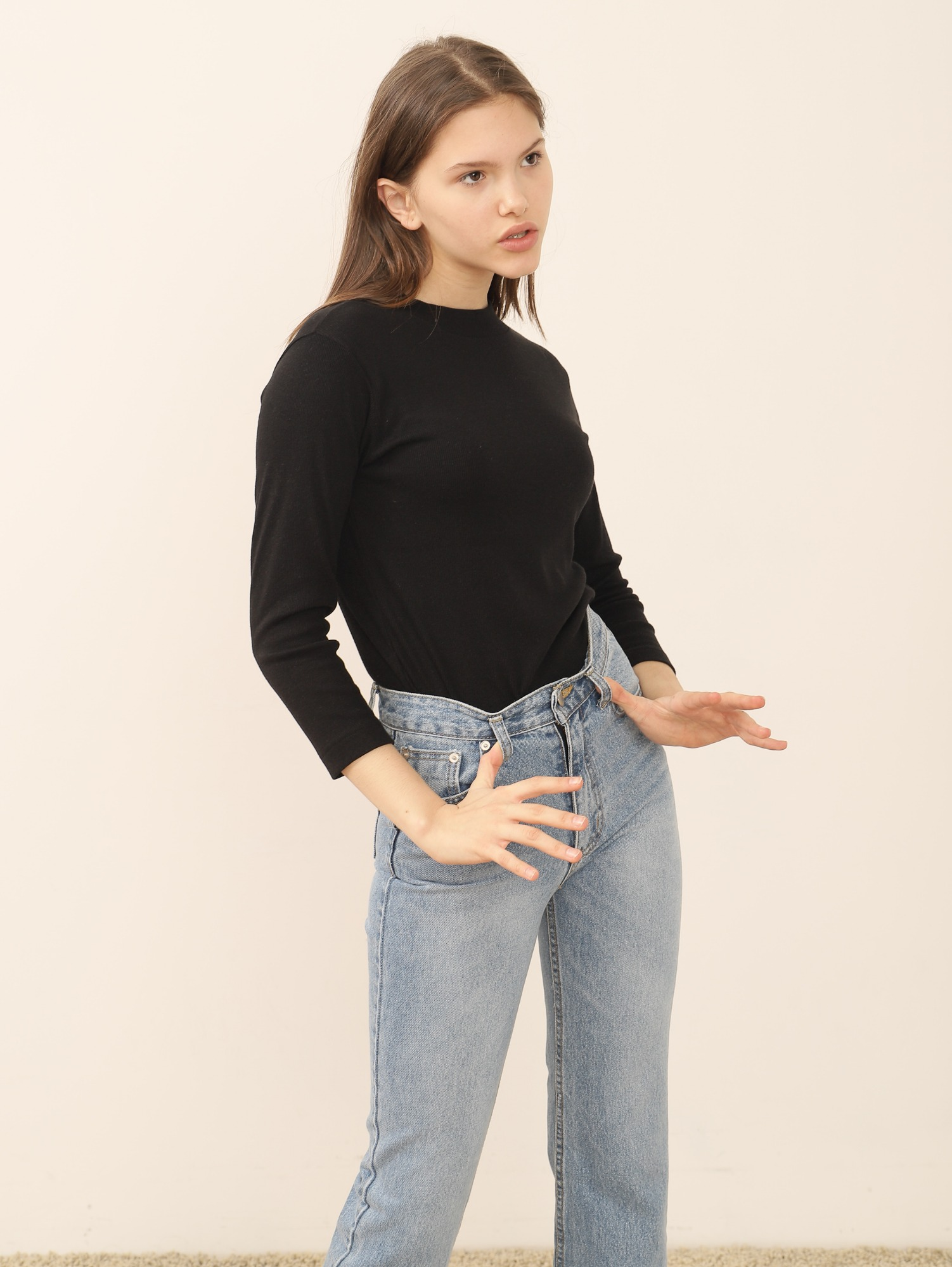 ESSENCE DENIM PANTS