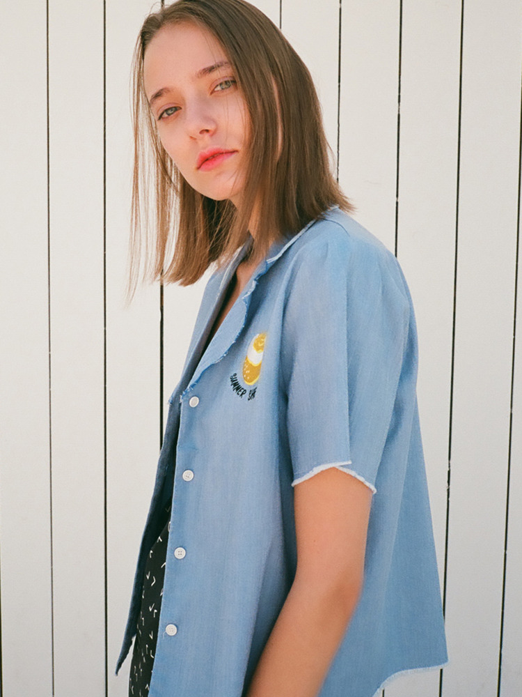 LEMON SHIRT_BLUE