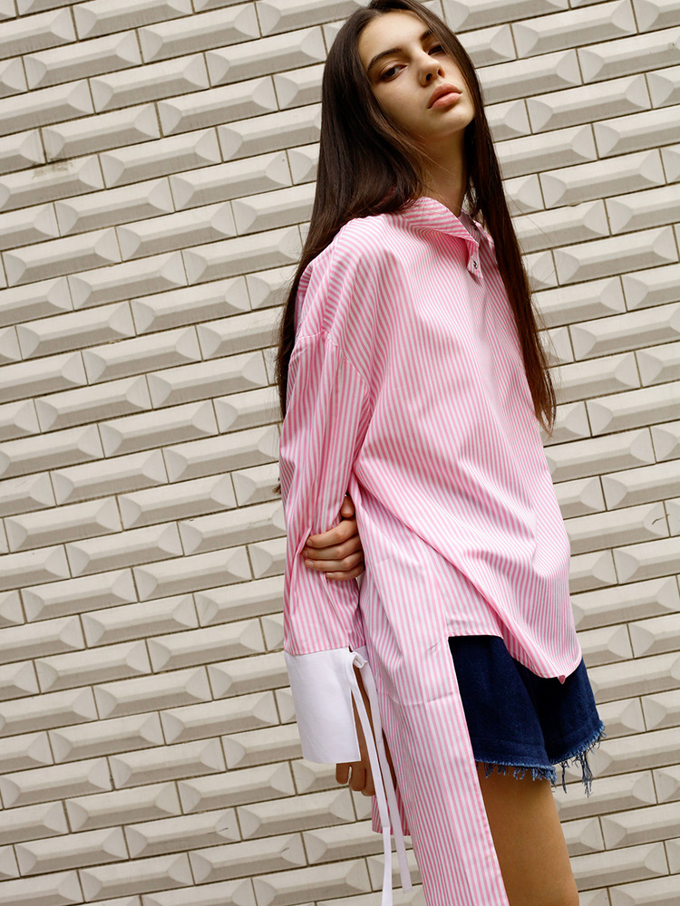TULIP STRIPE SHIRT