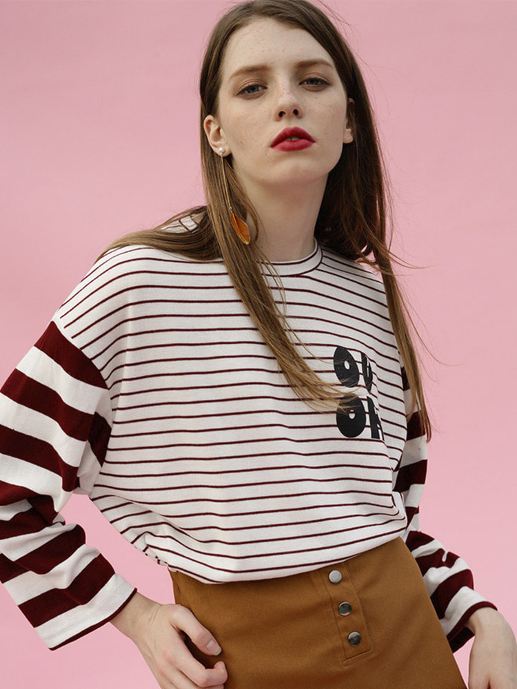 BASE STRIPE TEE