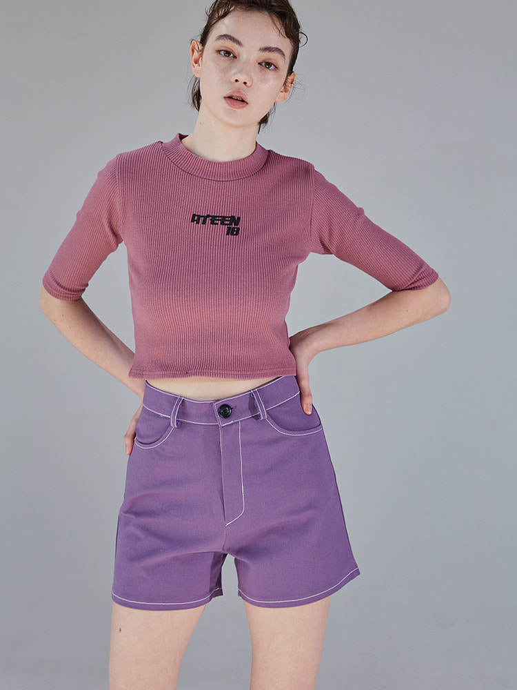 FEATURE SHORTS_purple