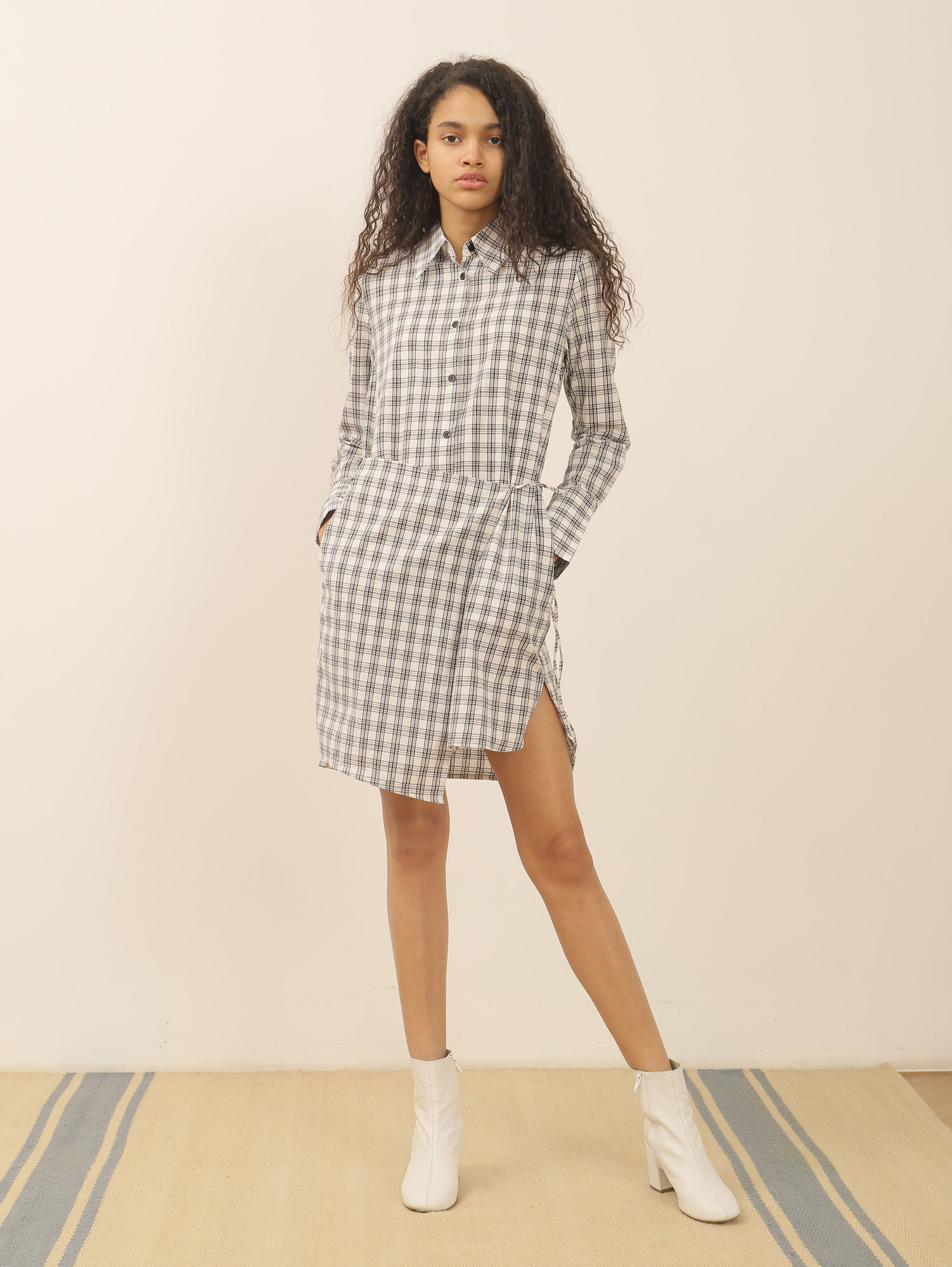SHARE SHIRT DRESS